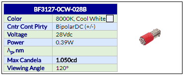 BF3127-0CW-028B