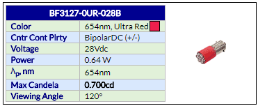 BF3127-0UR-028B
